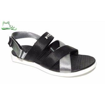 Giày xăng đan KIDO KID5703BW (Đen Trắng)