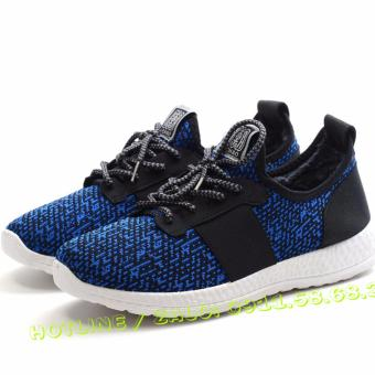 Giày thể thao nam FASHION ZILONG GNV0031 (Xanh)