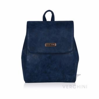 Balo nữ Verchini màu xanh đậm loang 004058