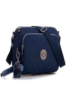 HKS Waterproof Nylon Handbag Shoulder Bag (Blue) - intl