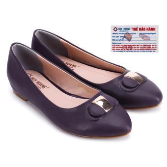 HL7071 - Giày búp bê nữ huy hoàng màu tím
