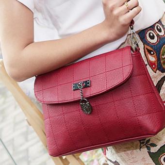 Túi đeo chéo Hot da cao cấp (Đỏ)