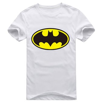 Fancyqube Women Personalized Batman T-Shirt White