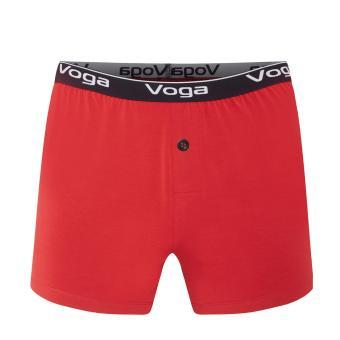 Quần Đùi Boxer Short Voga Slimfit Màu Đỏ Vải Modal