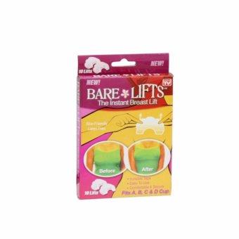 Bộ 20 miếng dán nâng ngực trong suốt Bare Lifts (Trắng)