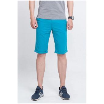quần short kaki nam trẻ MASCULINE - MS04XNG (xanh ngọc).