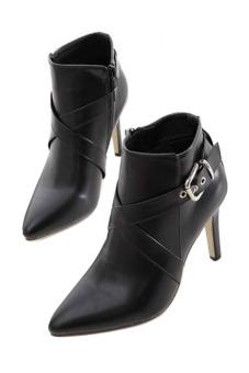 Boot nữ cao cấp HB22 Family Shop (Đen)