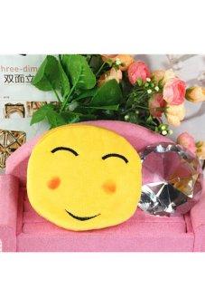 HKS Girl Mini Emoji Coin Purse Cute - intl