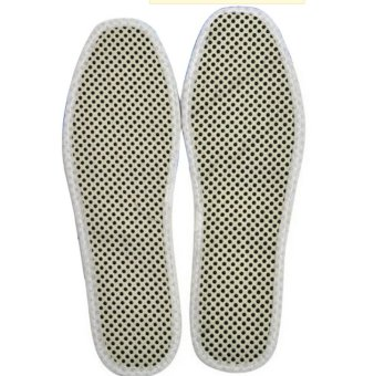 1 Pairs Promote Blood Circulation Metabolism Immunity Enhancement Tourmaline Foot Insole SIZE44 - intl