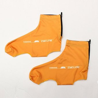 Outdoor Sports Cycling Shoe Covers Orange (XL) - Intl