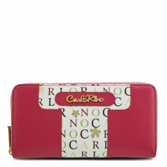 Ví nữ dây kéo Carlo Rimo 0303288-501-24 (màu hồng)
