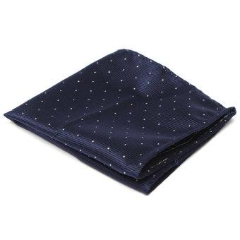 Men Pocket Square Hankerchief Korean Silk Paisley Dot Floral Hanky Wedding Party Style7 - Intl - Intl