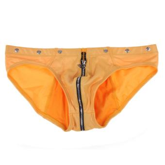 Men Fashion Boxer Shorts Yellow (Intl)