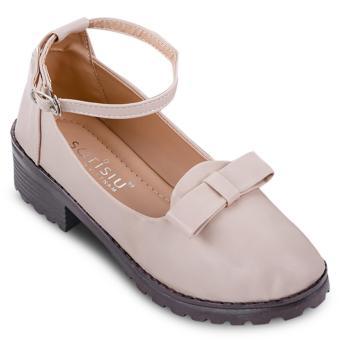 Giày oxford nơ Sarisiu SRS847 (Hồng)