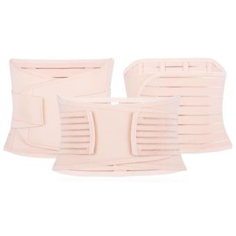 3pcs Maternity Postnatal Belt Belly Band Slimming Shapers Underwear for Women - intl