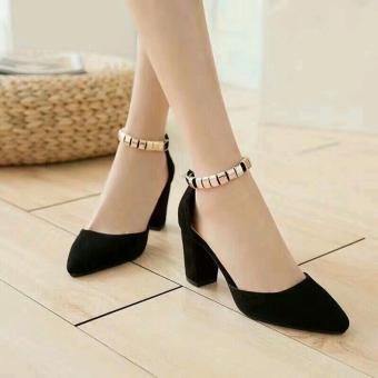 Giày sandal đế vuông