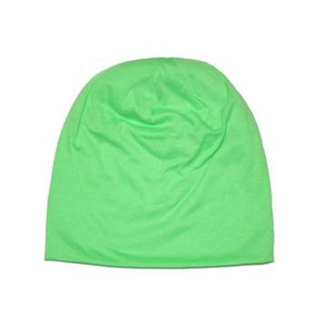 Fancyqube Candy Colored Man Korean Sleeve Head Cap Hip Hop Cap Green