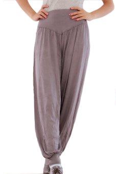 LALANG Harem Pants (Dark Grey) - Intl