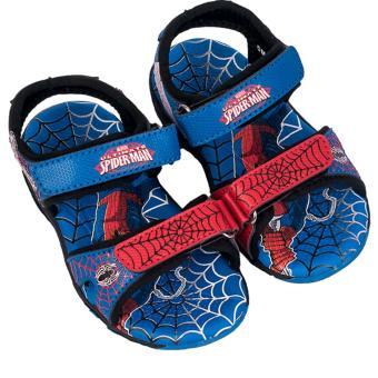 Giày Sandal Bé Trai Biti's Spider Man Người Nhện DTB062311XDG (Xanh dương)
