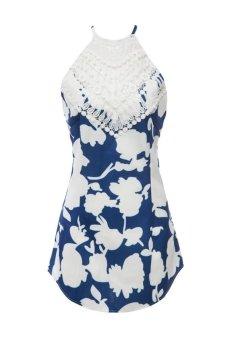 Sleeveless Print Backless Women's Dress TC - Intl