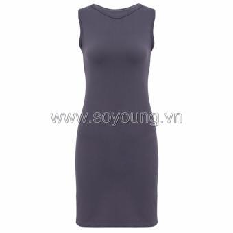 Váy Ôm Sát Nách Viền Kẻ Hai Bên Sườn SoYoung DRESS 700015 CHA