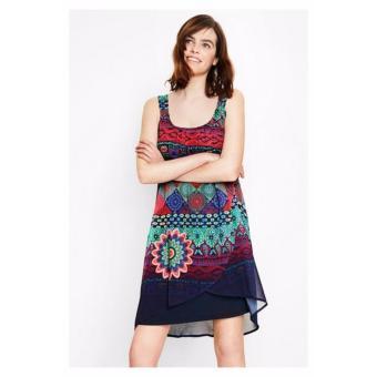 Váy Chữ A Vạt Chéo Desigual Dress Magic Dress Magic 72V2EW05000