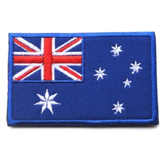 Flag of Australia Australian Aussie Oz Down under Applique Iron-on Patch - Intl - intl