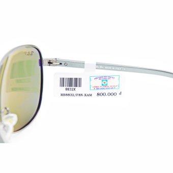 Kính mát unisex Polaroid nam 3D-DLP RB8832-F80-130X (Xám)