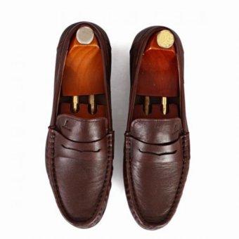 Giày mọi Alessandro Luigi LG92-64 (Nâu Đỏ)