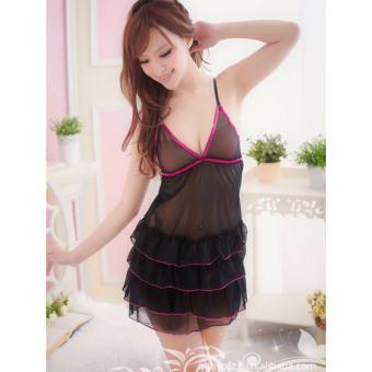 Váy Ngủ Siêu Mỏng Ren Tầng - MS301 .
