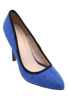 Giày cao gót LADA QK22 (Xanh coban)