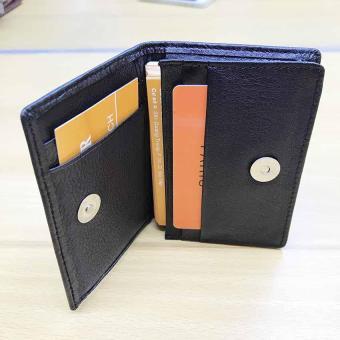 ví nam đựng card sang trọng (đen)