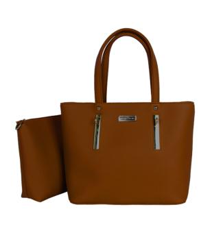 Bộ túi xách da Verchini 3979 (Nâu)