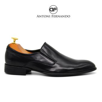 Giày Tây Nam Da Bò Italy Cao Cấp Antoni Fernando - AF6351 - Đen.