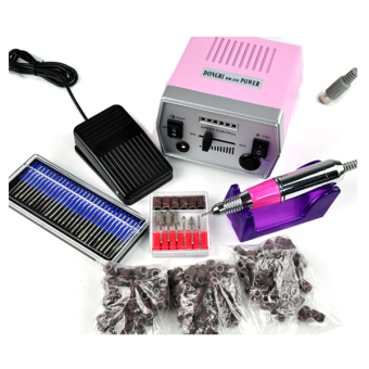 Sunwonder Professional Electric Nail Art Drill File Improved Overheat + Vibration Manicure Set EU Plug(Intl) - Intl