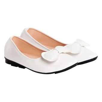 Giày búp bê Sarisiu XT736 (Trắng)