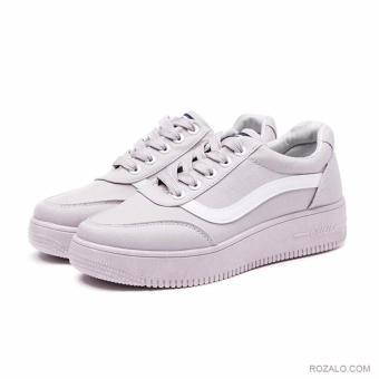 Giày sneaker thể thao nữ Rozalo RWG8001G-Xám