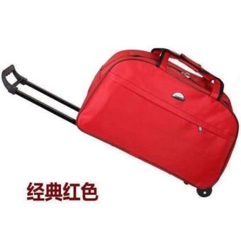 Túi du lịch có tay kéo tiện lợi(đỏ)