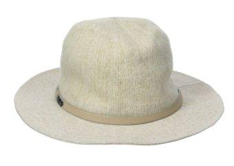 Mũ (nón) rộng vành cao cấp nữ BCBGeneration Women's Heathered Panama Hat Oxford Tan (Mỹ)