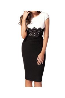 Midi Bodycon Pencil Dress - Intl