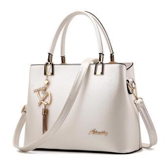 Túi xách thời trang nữ dễ thương TM032 (Trắng)