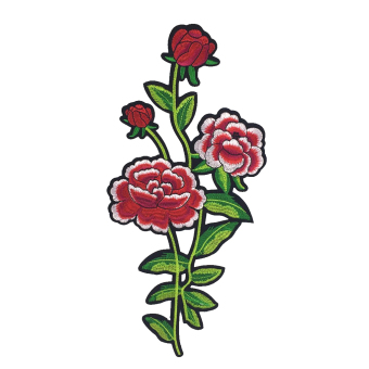 BolehDeals 1pc Large Flower Embroidery Patch Lace Venise Applique Sewing#5 - intl