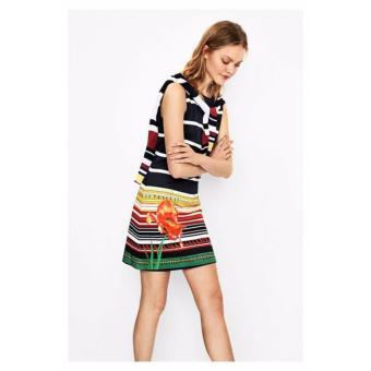 Váy Nữ Dáng Suông Hoa Công Sở DESIGUAL DRESS ARI 72V2WC2500136