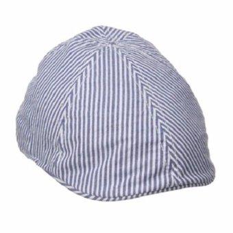 Mũ nam kiểu tài xế sọc xanh trắng Sperry Top-Sider Men's Seersucker Ivy (Mỹ)
