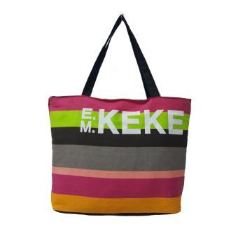 Túi Vải Tote Họa Tiết Sọc Keke Xinh Store