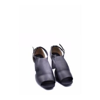 Giày Da Gót Vuông Cao Cấp