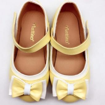 Giày búp bê bé gái Mattino ( vàng )