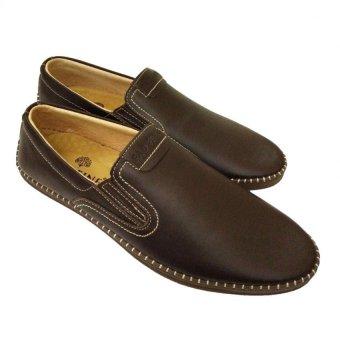Giày lười mọi da bò thật kiểu dáng trẻ trung AD2666N