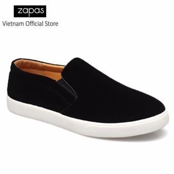 Giày Lười Nam Thời Trang Zapas GL012 ( Đen )
