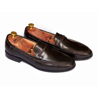 Giày Lười Mùa Hè Da Thật LG102